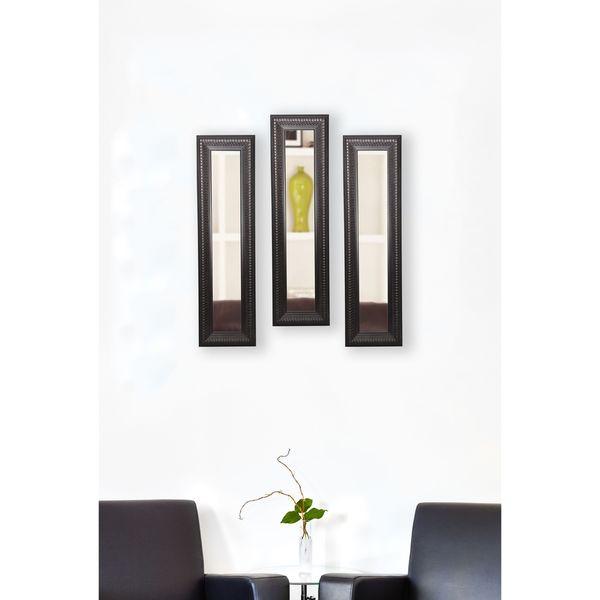 American Made Royal Curve Mirror Panel - Dark Mahogany