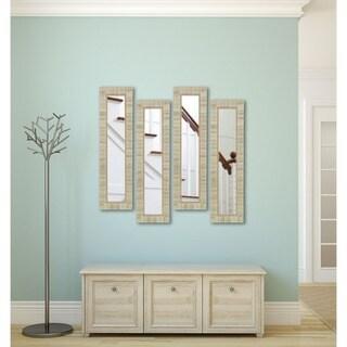 American Made Rayne Tuscan Ivory Mirror Panel