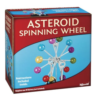 Toysmith Kinetic Asteroid Spinning Wheel Science Kit