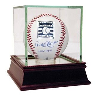 """Roberto Alomar Signed HOF Baseball w/ """"HOF 2011"""" Insc (MLB Auth)"""