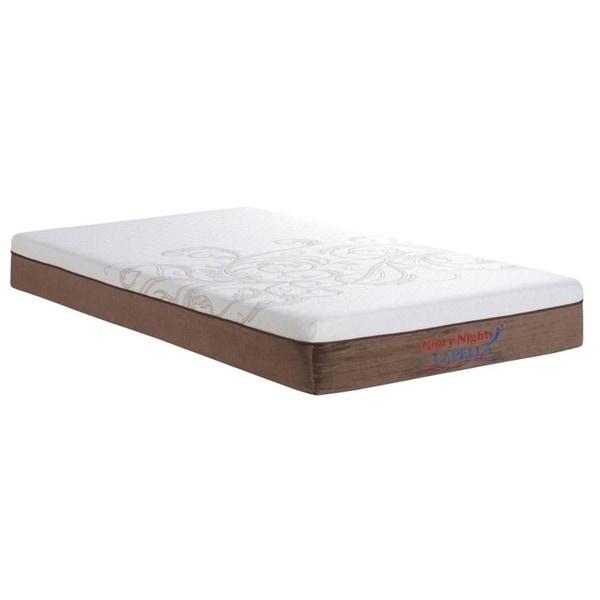 Shop Capella 10 Inch Twin Size Memory Foam Mattress Free Shipping Today Overstock Com 11199919