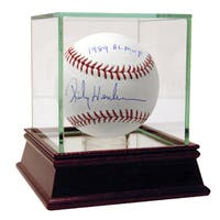 "Rickey Henderson Signed MLB Baseball w/"" 1989 AL MVP"" Insc."