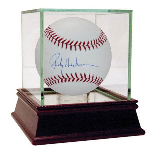 Rickey Henderson Signed MLB Baseball