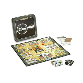 Clue Board Game Nostalgia Edition Game Tin
