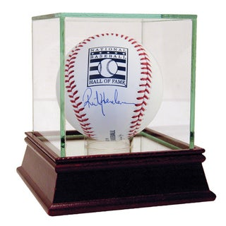 Rickey Henderson Signed HOF Baseball