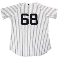 Dellin Betances Signed Majestic Authentic New York Yankees White Home Jersey