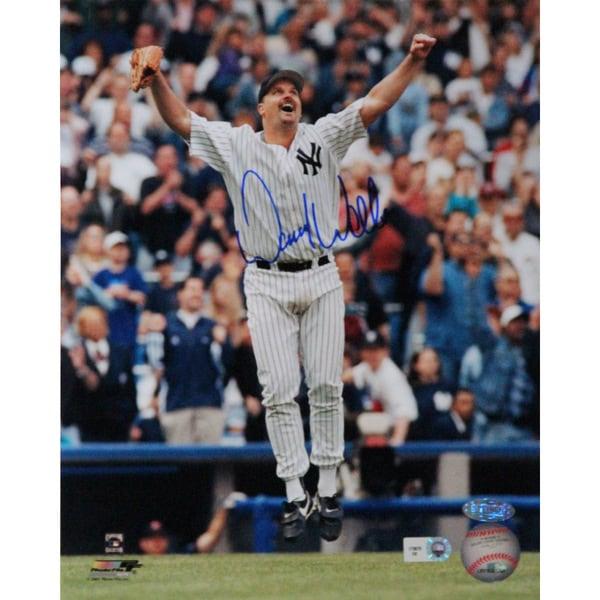 David Wells Perfect Game Celebration 16x20 Photo (MLB Auth)