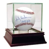 """Rickey Henderson MLB  Baseball w/""""3055 Hits""""Insc."""