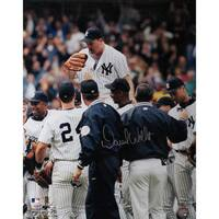 David Wells Perfect Game Carry Off 16x20 Photo (MLB Auth)