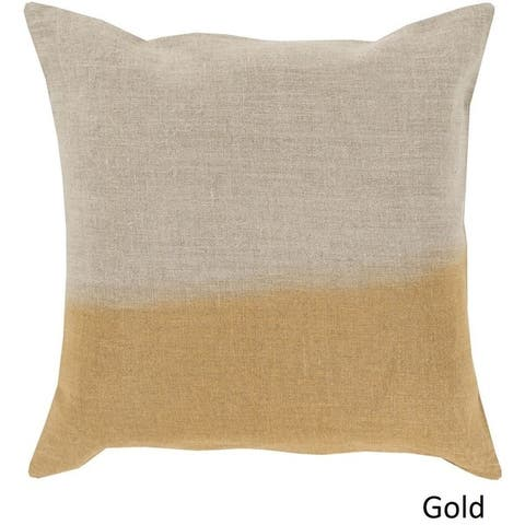 Decorative McDaniels 22-inch Poly or Feather Down Filled Pillow