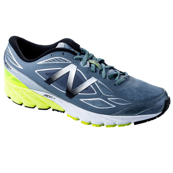 b1cab40566744 Shop New Balance M870GY4 Men s 870v4 Running Shoes - Free Shipping ...