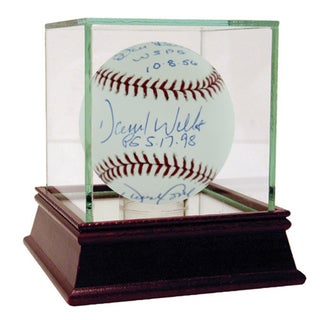 David Cone/ Don Larsen/ David Wells PG Inscription MLB Baseball (MLB Auth)