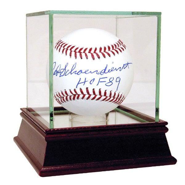 Red Schoendienst Signed MLB Baseball w/ HOF Insc