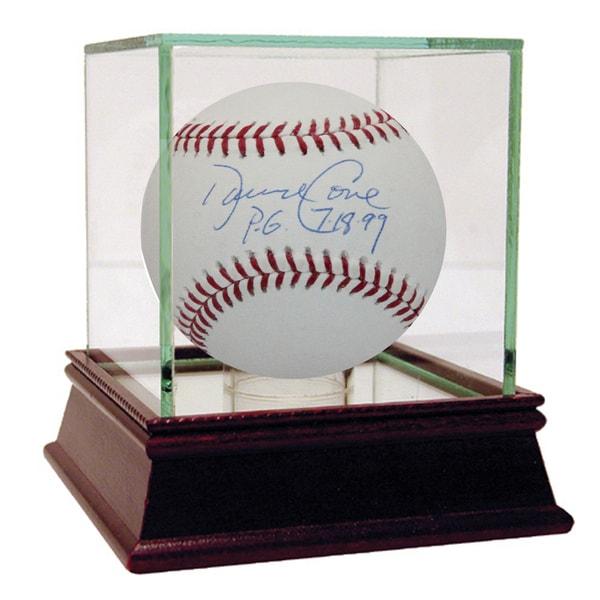 "David Cone MLB Baseball w/ ""PG 7/18/99"" Insc. (MLB Auth)"