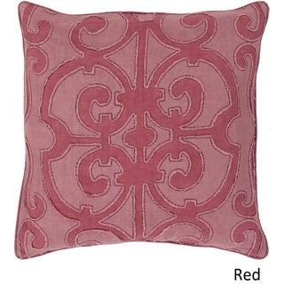 Decorative Ingraham 20-inch Poly or Down Filled Pillow