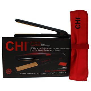 CHI G2 Ceramic Titanium Infused 1-inch Hairstyling Iron|https://ak1.ostkcdn.com/images/products/11200051/P18189753.jpg?impolicy=medium