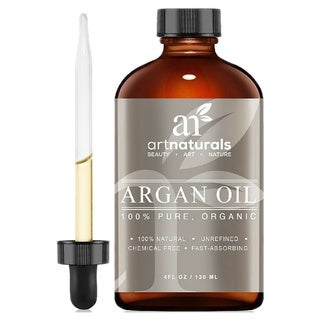 Art Naturals Organic 4-ounce Argan Oil for Hair Face /Skin