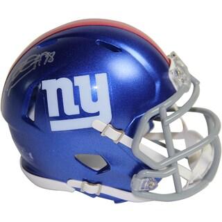 Damontre Moore Signed New York Giants Mini Speed Helmet