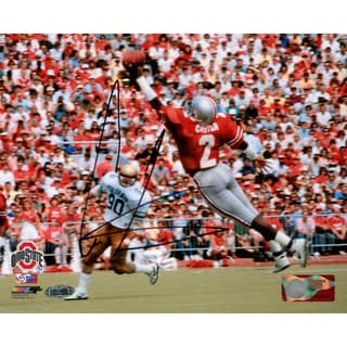 Cris Carter Signed One Handed Catch 8x10 Photo