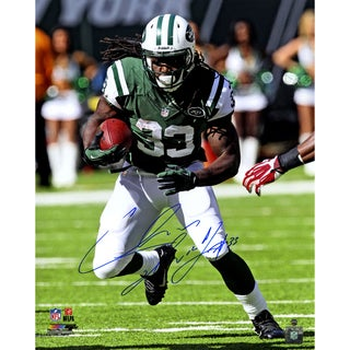 Chris Ivory Signed 'Running' 16x20 Photo