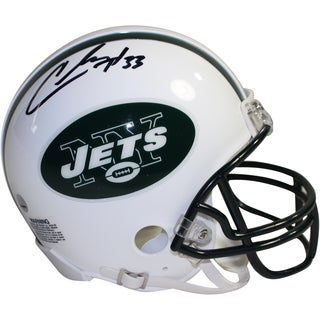 Chris Ivory Signed New York Jets Mini Helmet