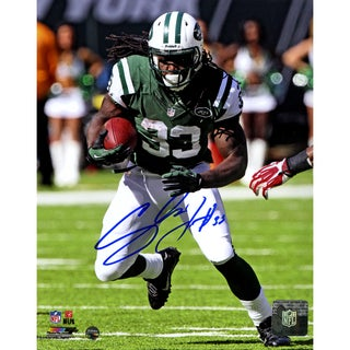 Chris Ivory Jets Running Signed 8x10 Photo