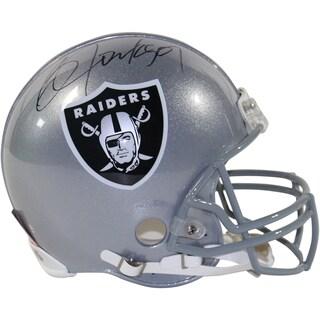 Bo Jackson Signed Oakland Raiders Authentic Full Size Helmet