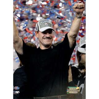 Bill Cowher Super Bowl Celebration 8x10 Photograph
