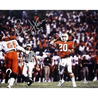 Bernie Kosar Signed University of Miami Horizotal 16x20 Photo