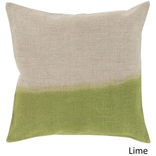 Decorative McDaniels 18-inch Poly or Down Filled Pillow