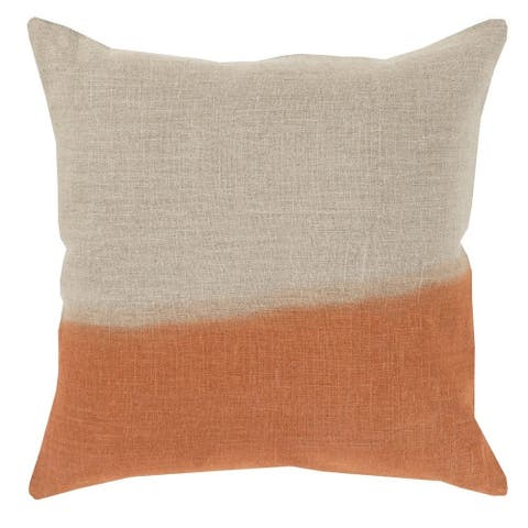 Decorative McDaniels 18-inch Poly or Feather Down Filled Pillow