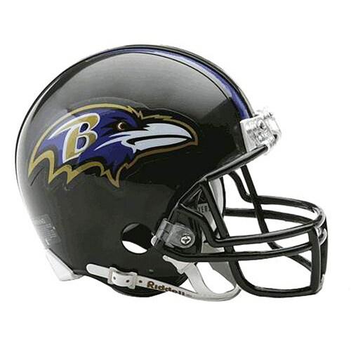 Baltimore Ravens Replica Mini Helmet Uns