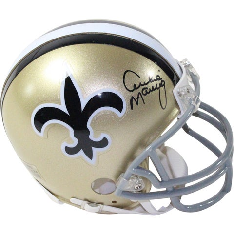 Archie Manning Signed New Orleans Saints Throwback Mini Helmet
