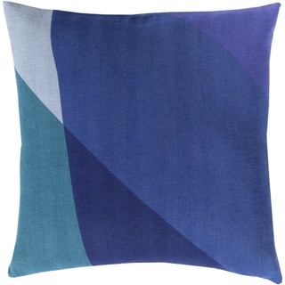 Decorative Lennon 20-inch Poly or Feather Down Filled Pillow