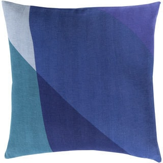 Decorative Lennon 20-inch Poly or Down Filled Pillow