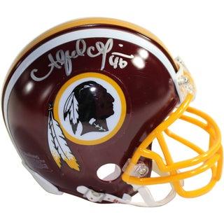 Alfred Morris Signed Washington Redskins Mini Helmet
