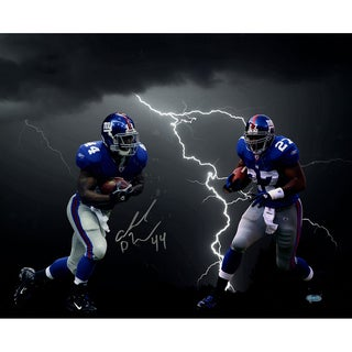 Ahmad Bradshaw Lightning Collage 16x20 Photo