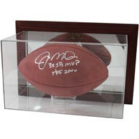Acrylic Wall Mountable Football Case