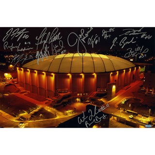 Syracuse Carrier Dome Multi Signed Horizontal 16x20 Photo (14 Sigs) - Black