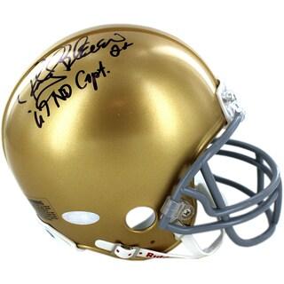 Rocky Bleier Signed Notre Dame minis w/ 1967 Captain