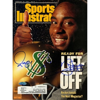 Rocket Ismail Signed 2/25/1991 Sports Illustrated Magazine