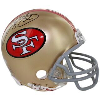 Ricky Watters Signed San Francisco 49ers Mini Helmet - Black