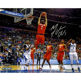 Michael Carter-Williams Signed Syracuse Alley-Oop Dunk 8x10 Photo