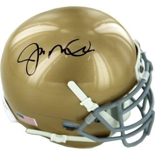 Joe Montana Signed Notre Dame Mini Helmet