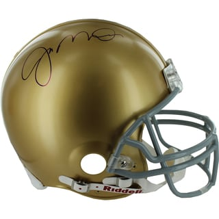 Joe Montana Signed Notre Dame Full Size Authentic Helmet