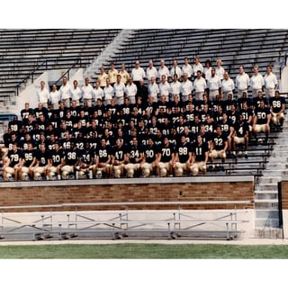 1988 Notre Dame National Championship Team Portrait 16x20 Photo uns (SSM)