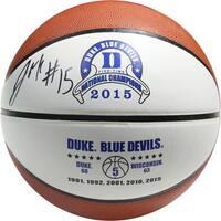 Jalhil Okafor Signed Duke Logo Basketball (SchwartzSports Auth) - Black
