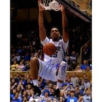 Jalhil Okafor Signed Duke Dunking 16x20 Photo (SchwartzSports Auth)
