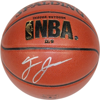 Tyus Jones Signed Spalding NBA I/O Basketball