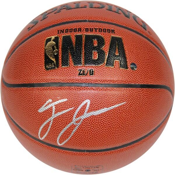 Tyus Jones Signed Spalding NBA I/O Basketball - Black